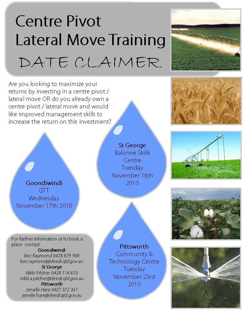 centre pivot  u0026 lateral move  cplm  workshop